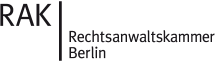 Mitglied der Rechtsanwaltskammer Berlin